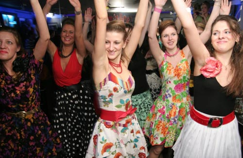"Фотографии с вечеринки  ""Стиляги "" - Школа танцев  ""Dance Fusion """