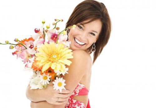 Девушкам цветы в подарок девушке