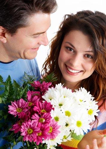 Настроения цветы в подарок девушке